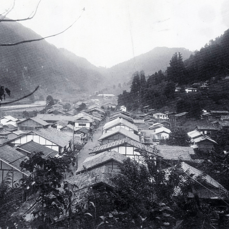 遠山郷『和田宿』修景事業
