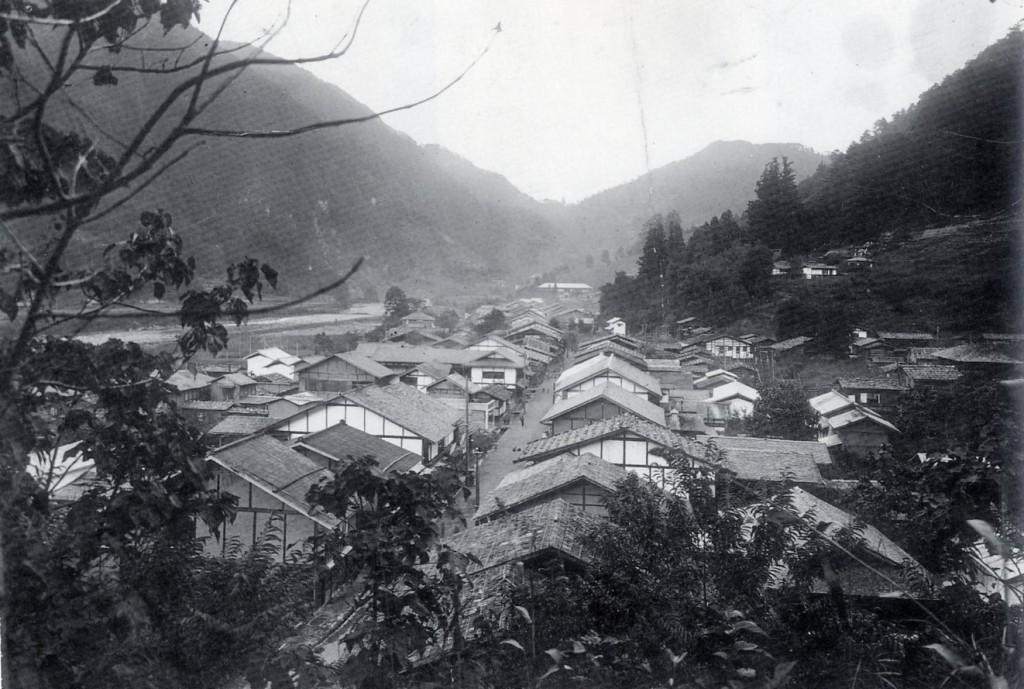 和田の町並